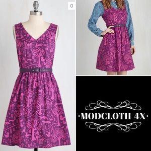 Woodland creatures modcloth dress